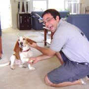 Todd and basset hound